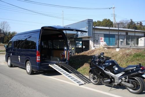 バイク引き取り・納車